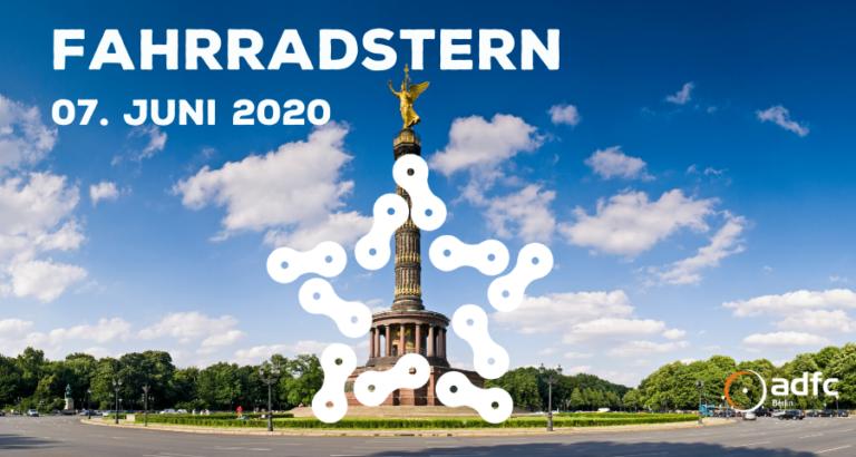 ADFC Sternfahrt wird zu Fahrradstern 2020
